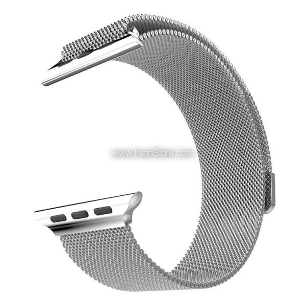 Premium Milanese Stainless Steel Watchband for Apple Watch Series 1 & 2