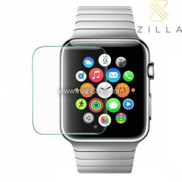 Zilla 2.5D Tempered Glass Curved Edge 9H for Apple Watch Series 1 & 2