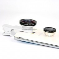 3in1 Super Wide 0.4X, Fisheye & Macro Clip