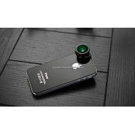 Lesung Fisheye 3 in 1 Photo Lens Quick Change Camera for iPhone 4/4s