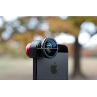 Lesung Fisheye 3 in 1 Photo Lens Quick Change Camera for iPhone 5/5s