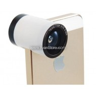 Teog Photo Lens Kit 3 in 1 (180 Degree 0.28x Fisheye Lens + Wide Lens + Marco Lens) for iPhone 5/5s