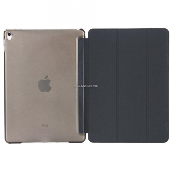Ultra Thin Tri Fold Leather Hard Case