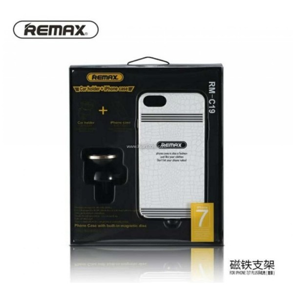 Remax 360 Degrees Mobile Car Holder with Casing