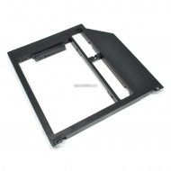 Universal 2nd HDD Caddy 9mm SATA3 to SATA3 for OptiBay-3 MacBook Pro