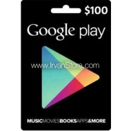 Voucher Google Play Gift Card 100 USD (US)