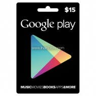Voucher Google Play Gift Card 15 USD (US)
