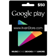 Voucher Google Play Gift Card 50 USD (US)