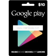 Voucher Google Play Gift Card 10 USD (US)