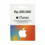 Voucher Apple iTunes Gift Card IGC (IDR 200K)
