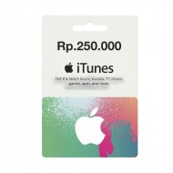 Voucher Apple iTunes Gift Card IGC (IDR 250K)