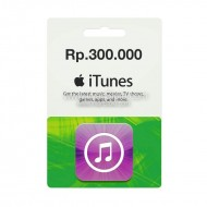 Voucher Apple iTunes Gift Card IGC (IDR 300K)