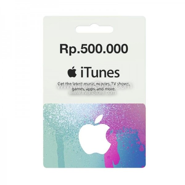 Voucher Apple iTunes Gift Card IGC (IDR 500K)
