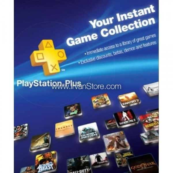 Voucher Playstation Plus PS+ 12 bulan Indonesia