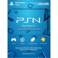Voucher PSN PlayStation Network Card  (ID) 200.000 IDR