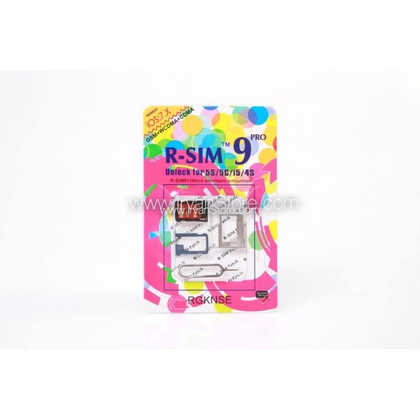 R-SIM 9 Pro : Activation & Unlock for iPhone 5s/5c/5/4s