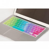 Rainbow Color Silicone Keyboard Cover Protector Skin