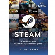 Voucher Steam Wallet Code Rp 120,000 (ID)