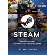 Voucher Steam Wallet Code Rp 250,000 (ID)